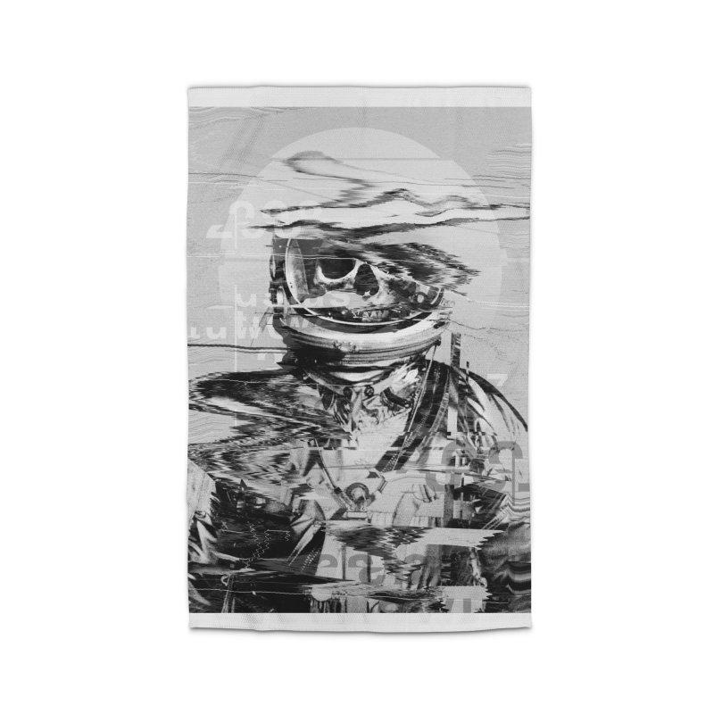 Astro Skull Home Rug by nicebleed