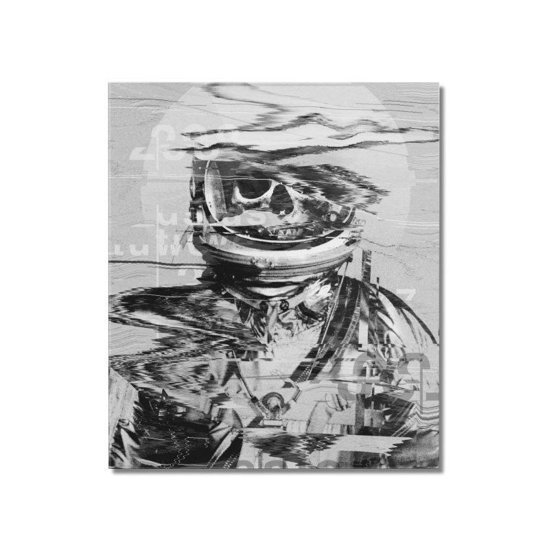 Astro Skull Home Mounted Acrylic Print by nicebleed