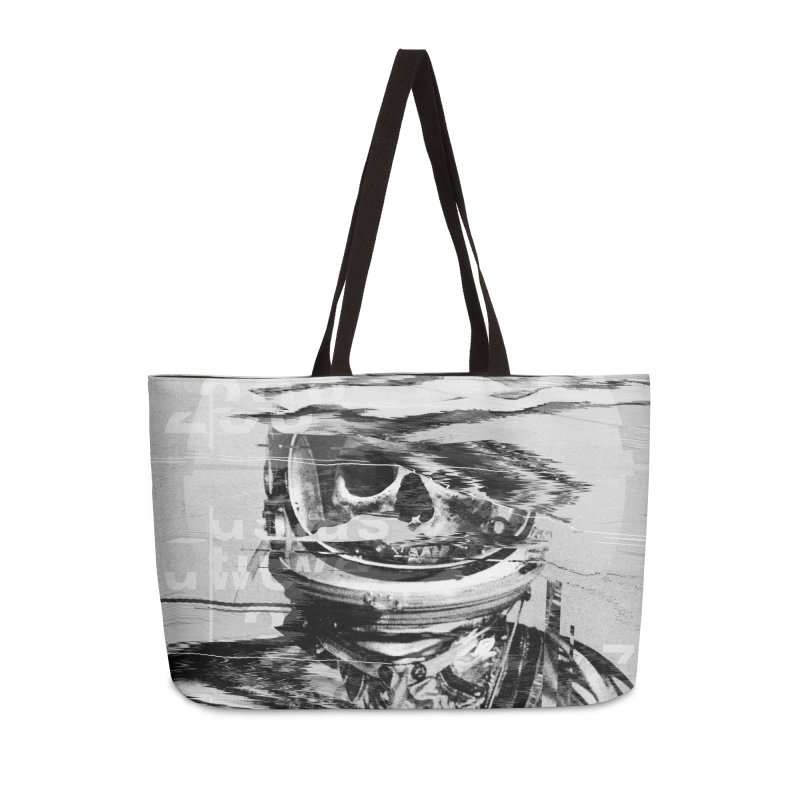 Astro Skull Accessories Weekender Bag Bag by nicebleed
