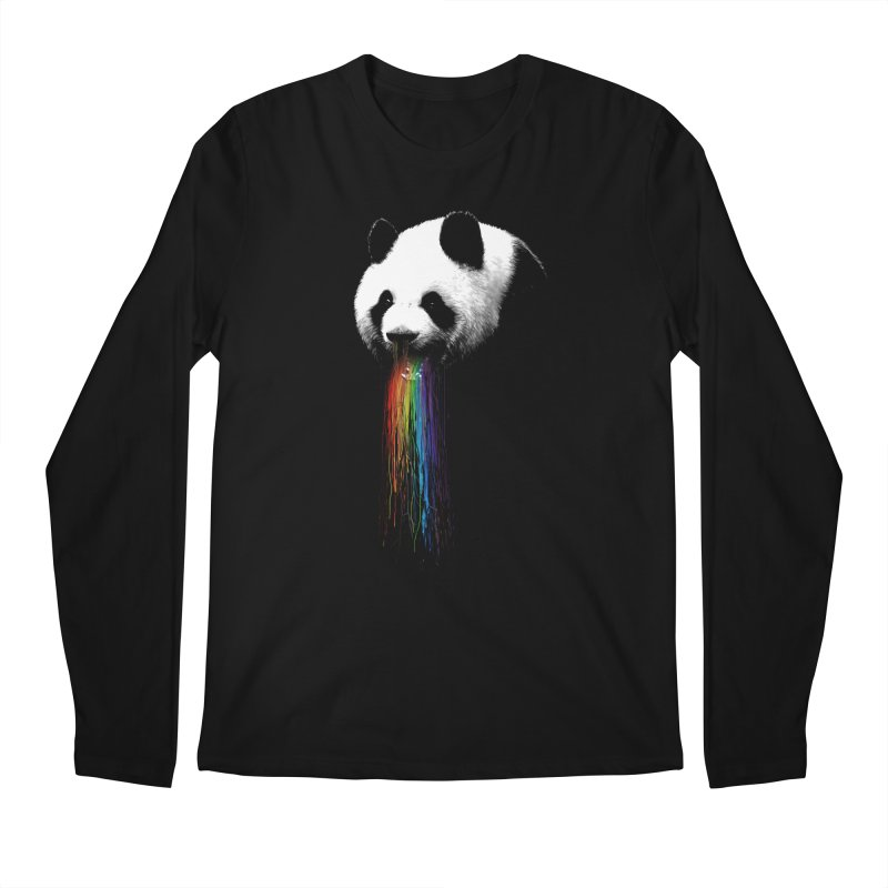 Pandalicious Men's Longsleeve T-Shirt by nicebleed