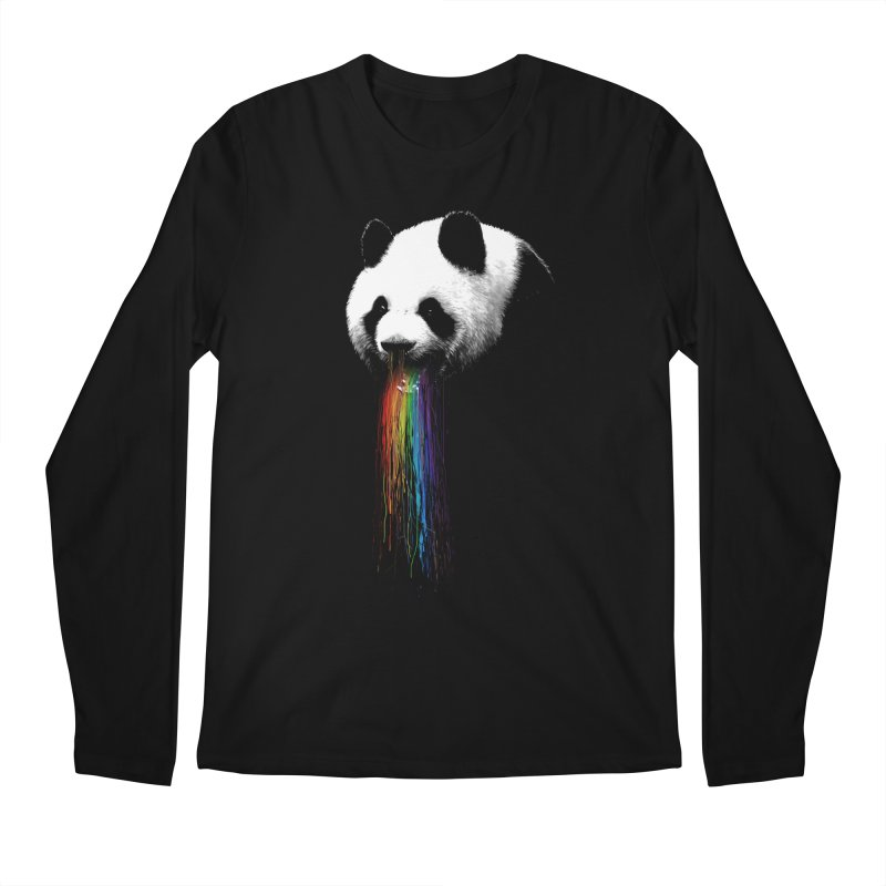 Pandalicious in Men's Longsleeve T-Shirt Black by nicebleed