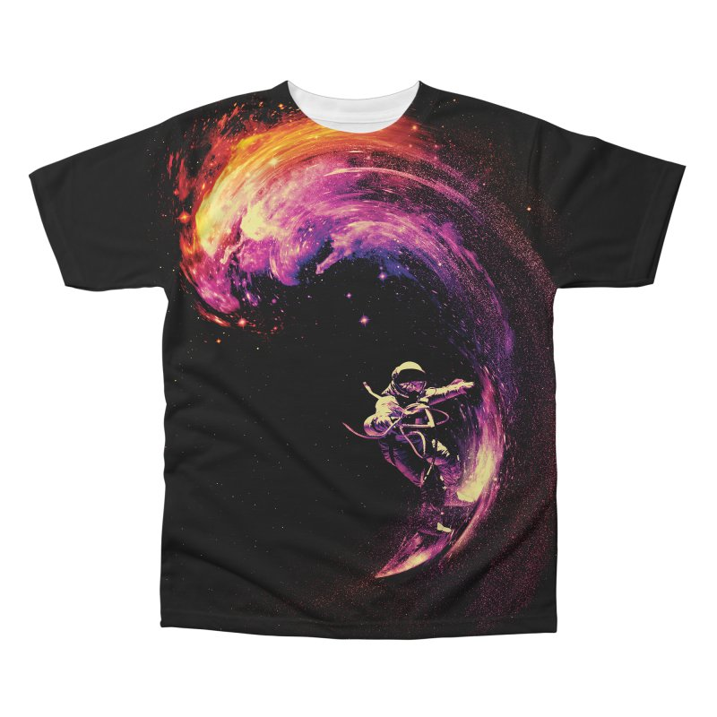 Space Surfing in Men's Regular All Over Print by nicebleed