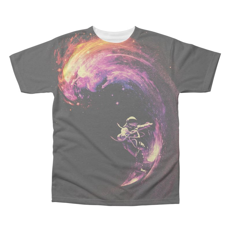 Space Surfing Men's Triblend All Over Print by nicebleed