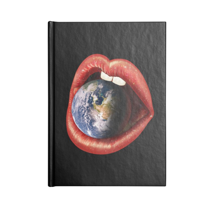 Sweet Treat - Earth Accessories Blank Journal Notebook by nicebleed