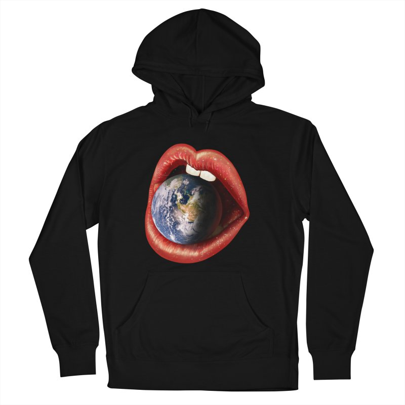 Sweet Treat - Earth Women's French Terry Pullover Hoody by nicebleed