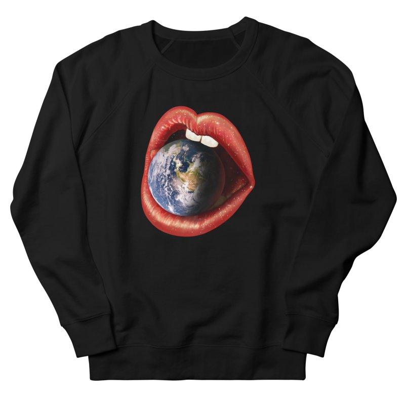 Sweet Treat - Earth Women's French Terry Sweatshirt by nicebleed