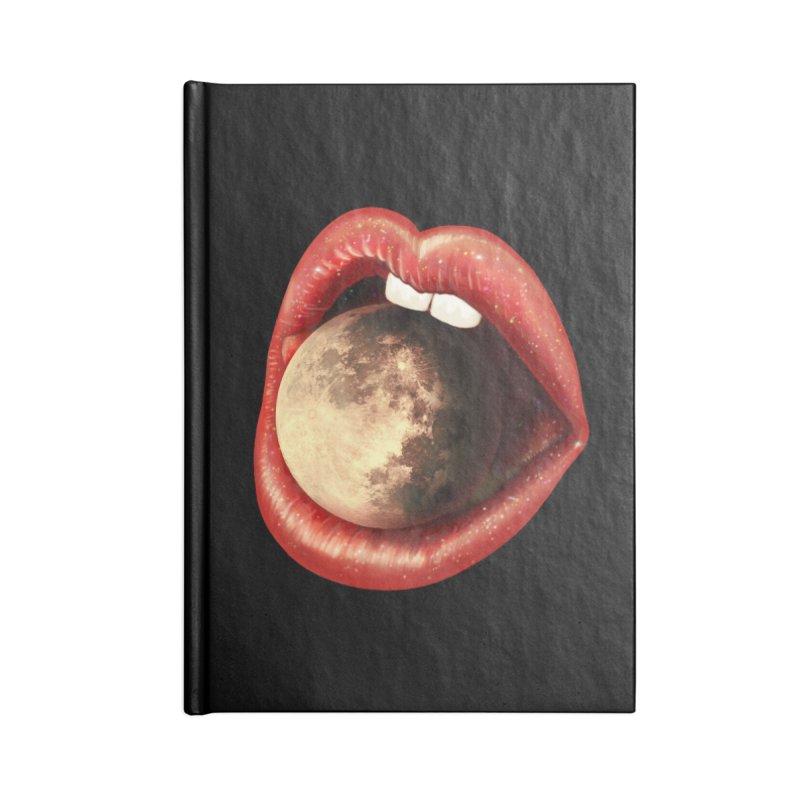 Sweet Treat - Moon Accessories Blank Journal Notebook by nicebleed