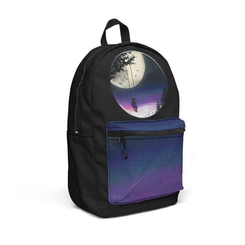Moon Gazer Accessories Backpack Bag by nicebleed