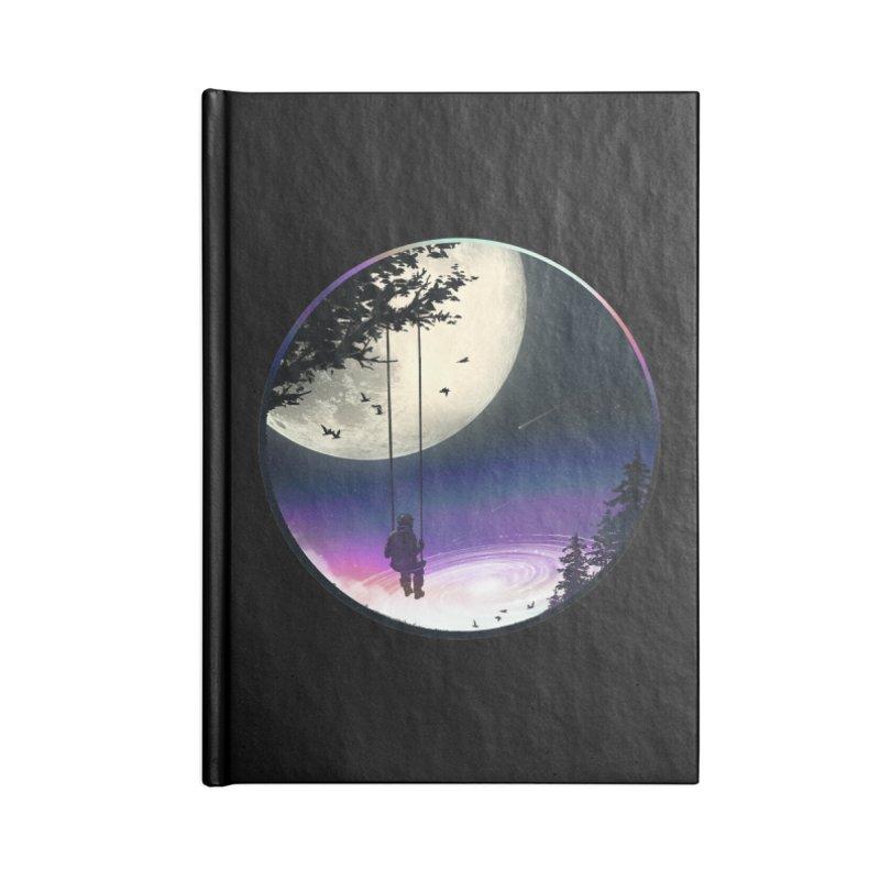 Moon Gazer Accessories Blank Journal Notebook by nicebleed