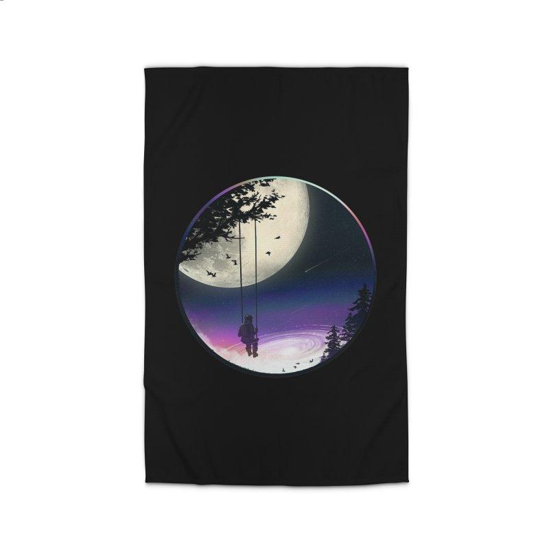 Moon Gazer Home Rug by nicebleed