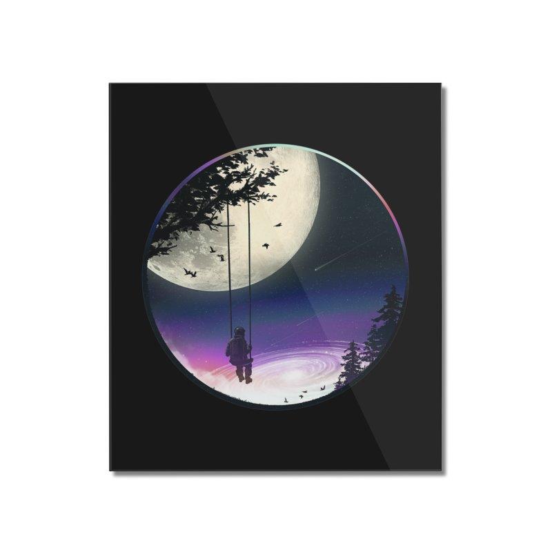 Moon Gazer Home Mounted Acrylic Print by nicebleed
