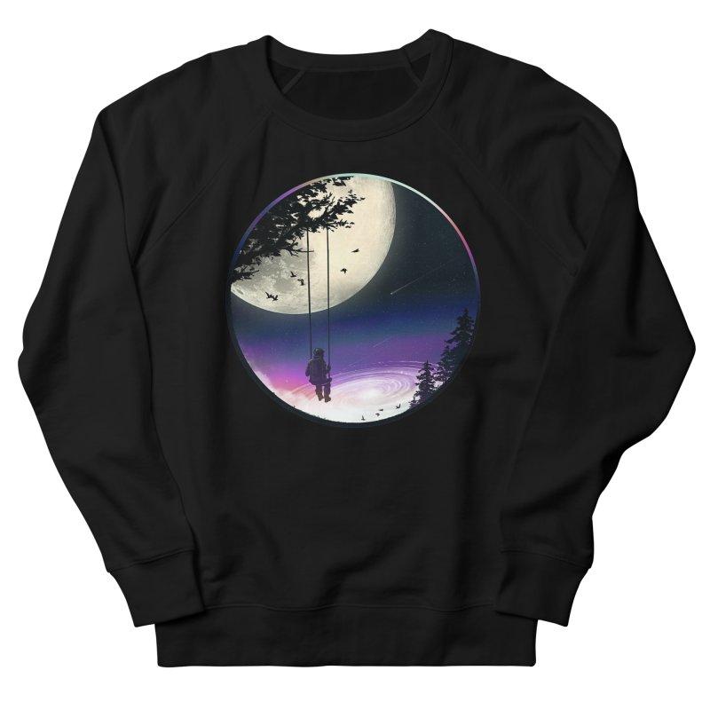 Moon Gazer Women's French Terry Sweatshirt by nicebleed