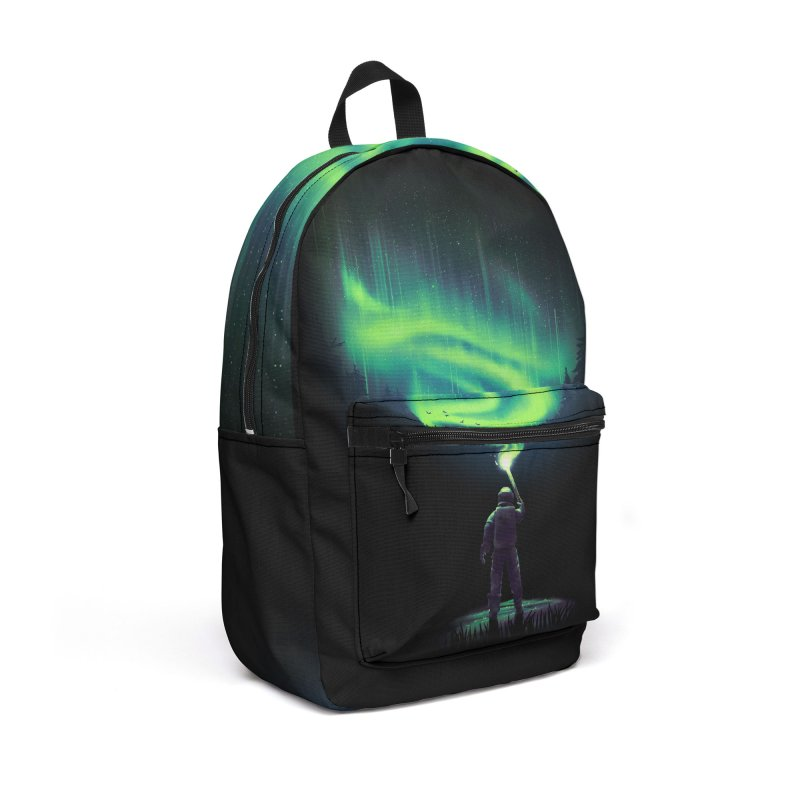 Illuminate Aurora Accessories Backpack Bag by nicebleed