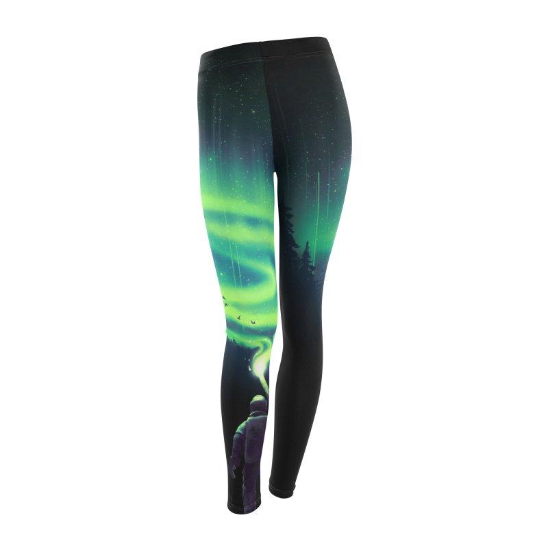 Illuminate Aurora Women's Leggings Bottoms by nicebleed