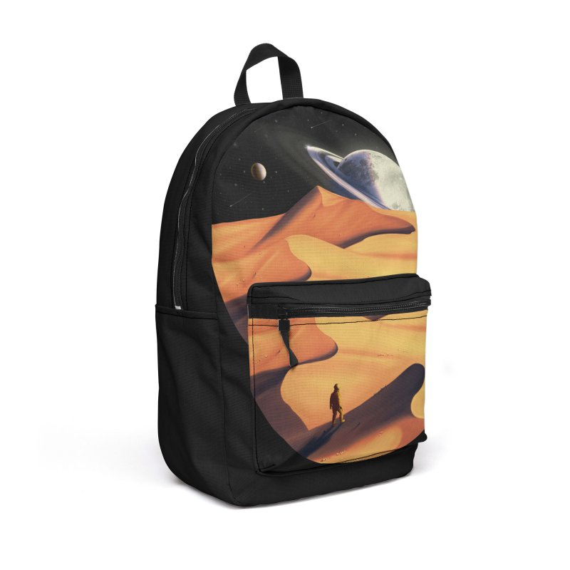 The Wanderer Accessories Backpack Bag by nicebleed