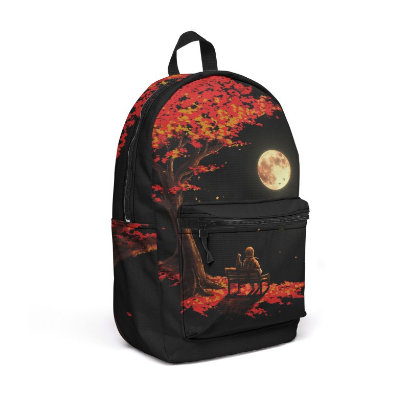Autumn Moon Accessories Backpack Bag by nicebleed