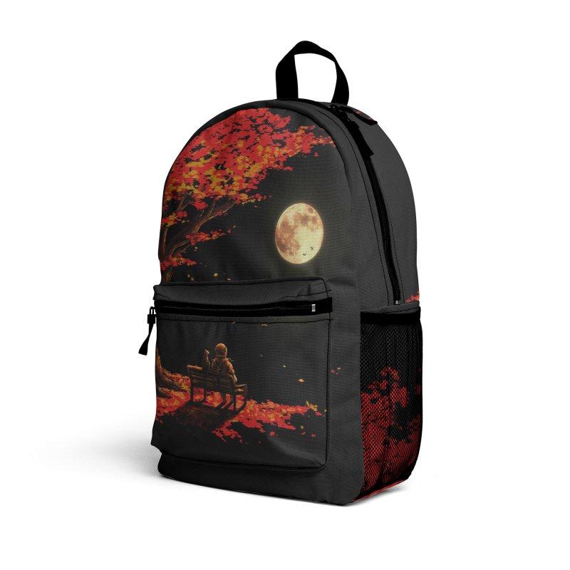 Autumn Moon Accessories Bag by nicebleed