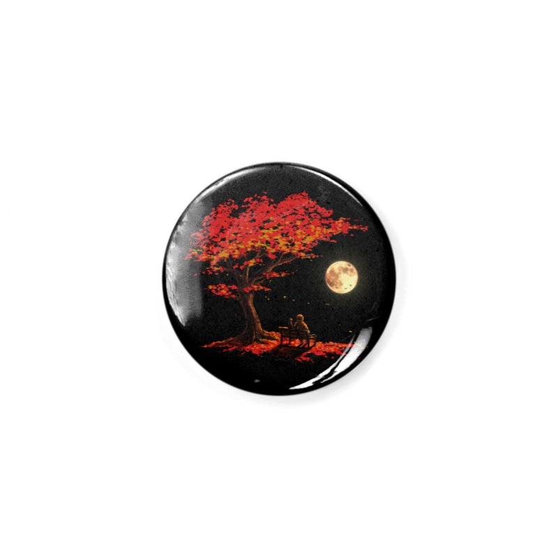 Autumn Moon Accessories Button by nicebleed