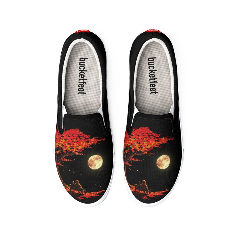Autumn Moon Women's Shoes by nicebleed