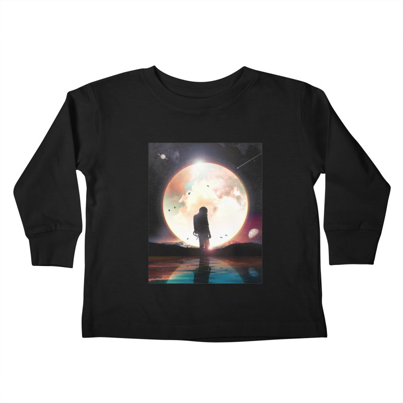 The Radiant Kids Toddler Longsleeve T-Shirt by nicebleed