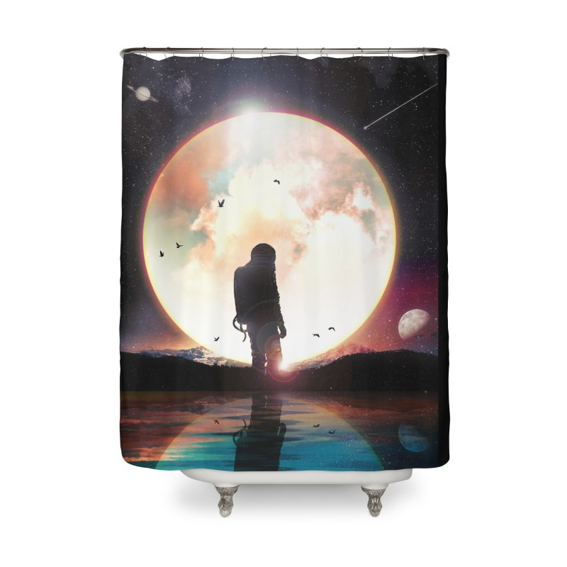 The Radiant Home Shower Curtain by nicebleed
