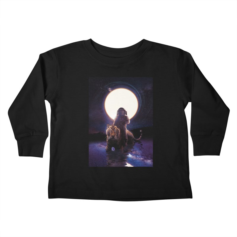 Hunter Kids Toddler Longsleeve T-Shirt by nicebleed