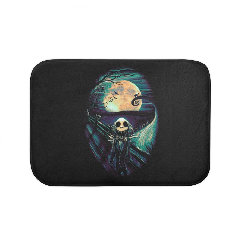 The Scream Before Christmas Home Bath Mat by nicebleed