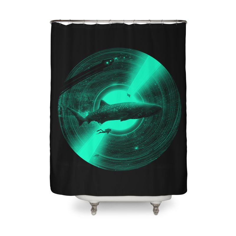 Oceanic Tune Home Shower Curtain by nicebleed