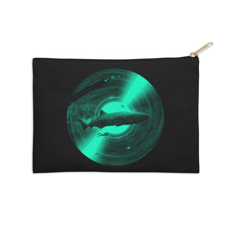 Oceanic Tune Accessories Zip Pouch by nicebleed