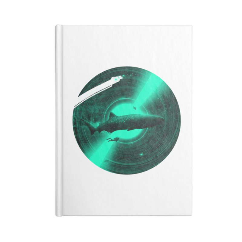 Oceanic Tune Accessories Lined Journal Notebook by nicebleed