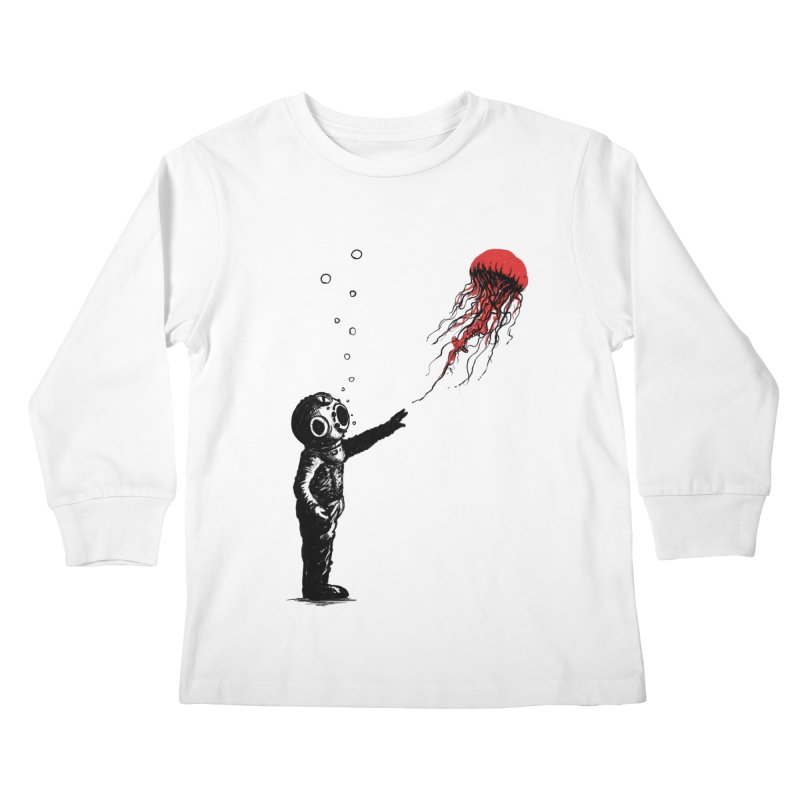 Sting With Me Kids Longsleeve T-Shirt by nicebleed