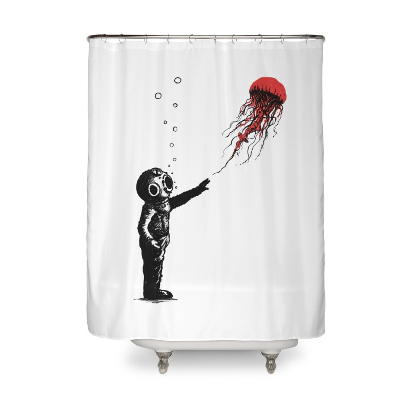 Sting With Me Home Shower Curtain by nicebleed