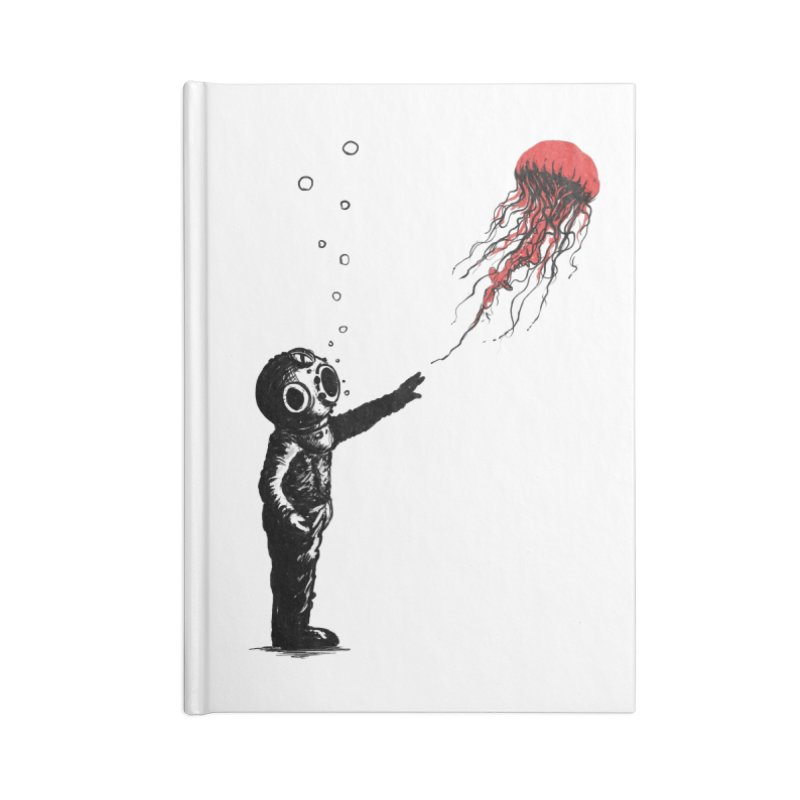 Sting With Me Accessories Lined Journal Notebook by nicebleed