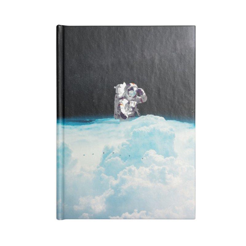 Seeking Accessories Lined Journal Notebook by nicebleed