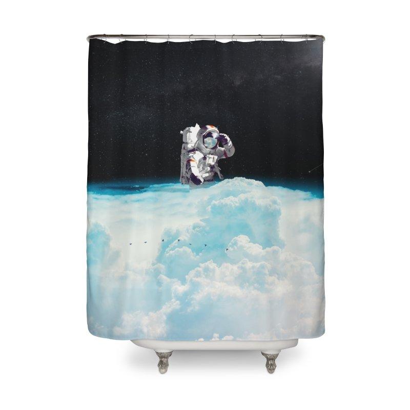 Seeking Home Shower Curtain by nicebleed