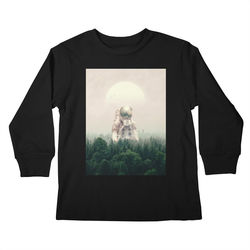 The Guest Kids Longsleeve T-Shirt by nicebleed