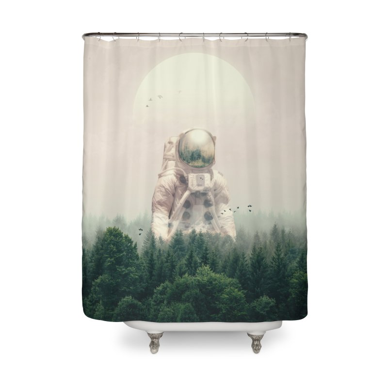 The Guest Home Shower Curtain by nicebleed