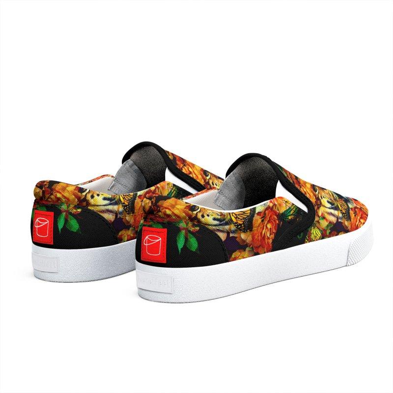 Wild Flowers Men's Shoes by nicebleed