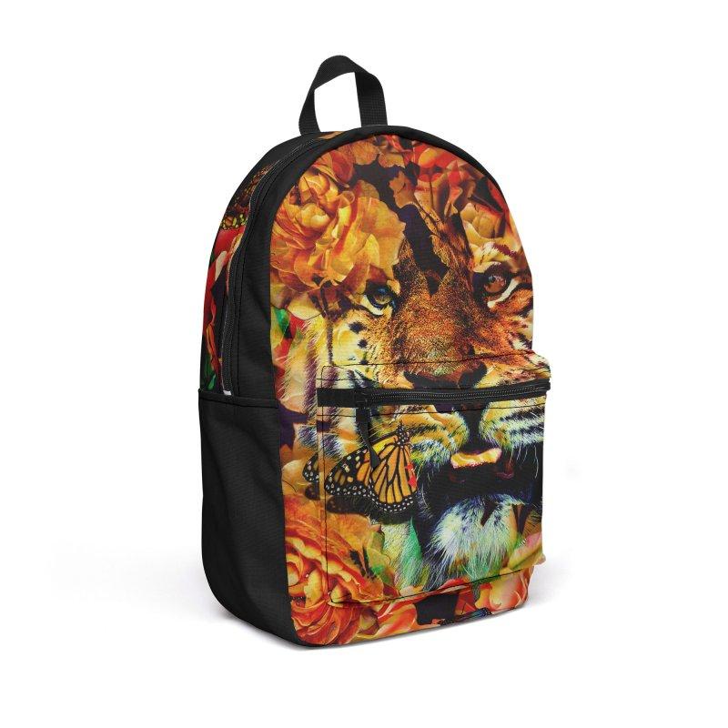 Wild Flowers Accessories Backpack Bag by nicebleed