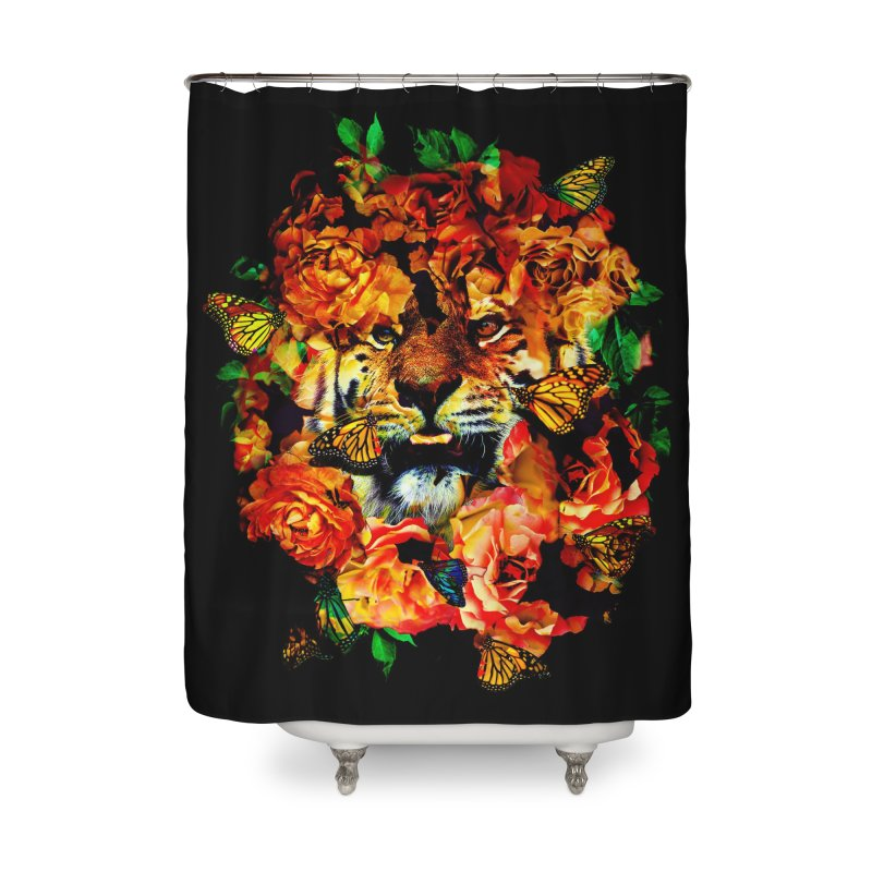 Wild Flowers Home Shower Curtain by nicebleed