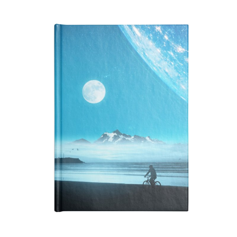 Hidden Trail Accessories Lined Journal Notebook by nicebleed