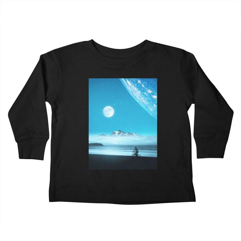 Hidden Trail Kids Toddler Longsleeve T-Shirt by nicebleed