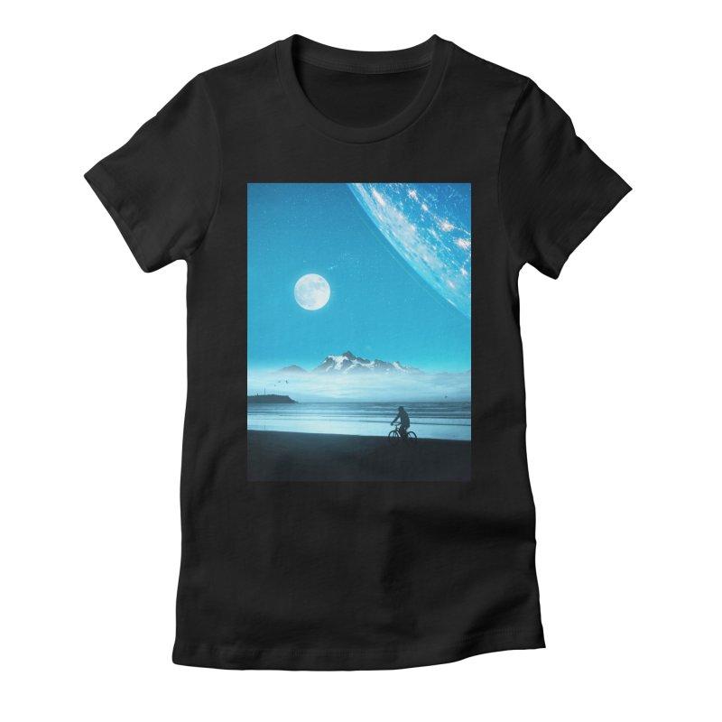Hidden Trail Women's T-Shirt by nicebleed