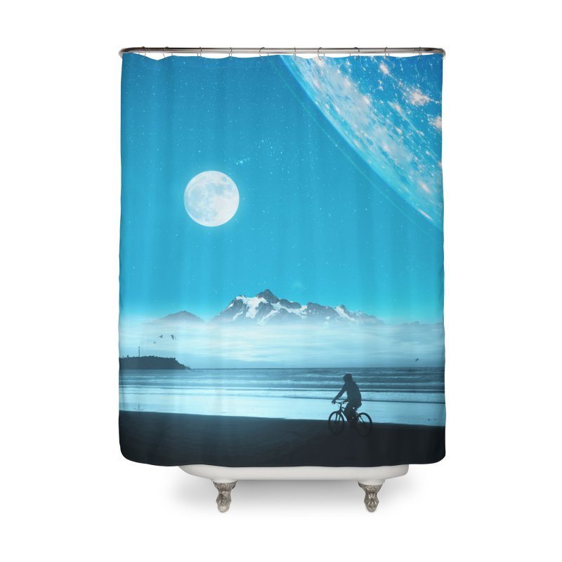 Hidden Trail Home Shower Curtain by nicebleed