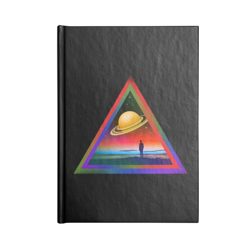 Goodbye Blue Sky Accessories Lined Journal Notebook by nicebleed