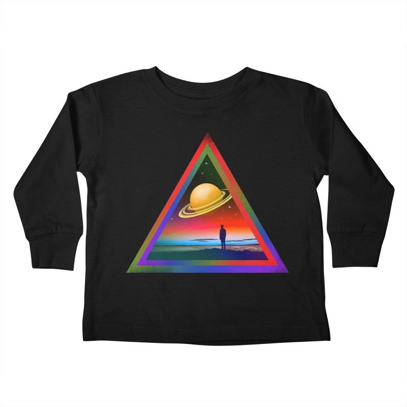 Goodbye Blue Sky Kids Toddler Longsleeve T-Shirt by nicebleed