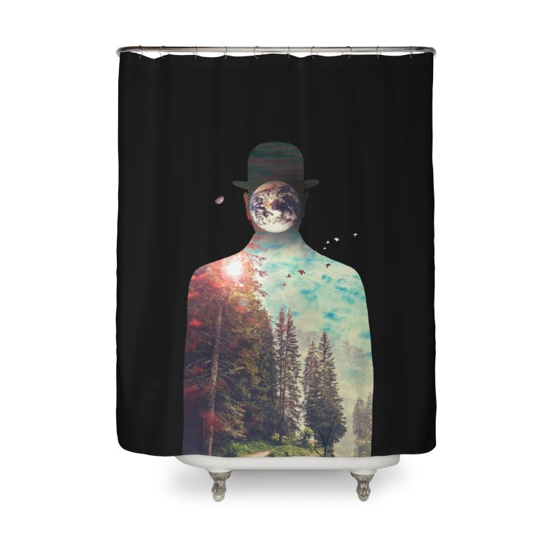 Intrinsic Elements Home Shower Curtain by nicebleed