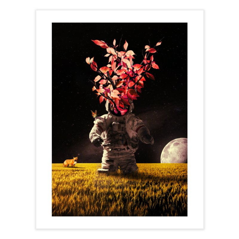 Autumn Sprout in Fine Art Print by nicebleed