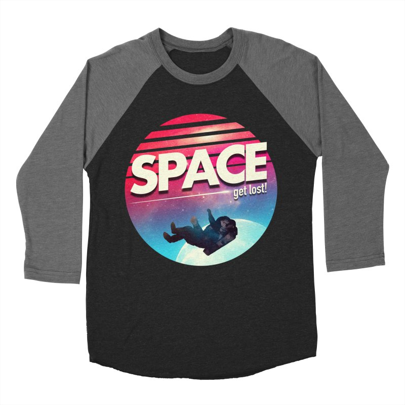 Get Lost in Space Women's Baseball Triblend Longsleeve T-Shirt by nicebleed