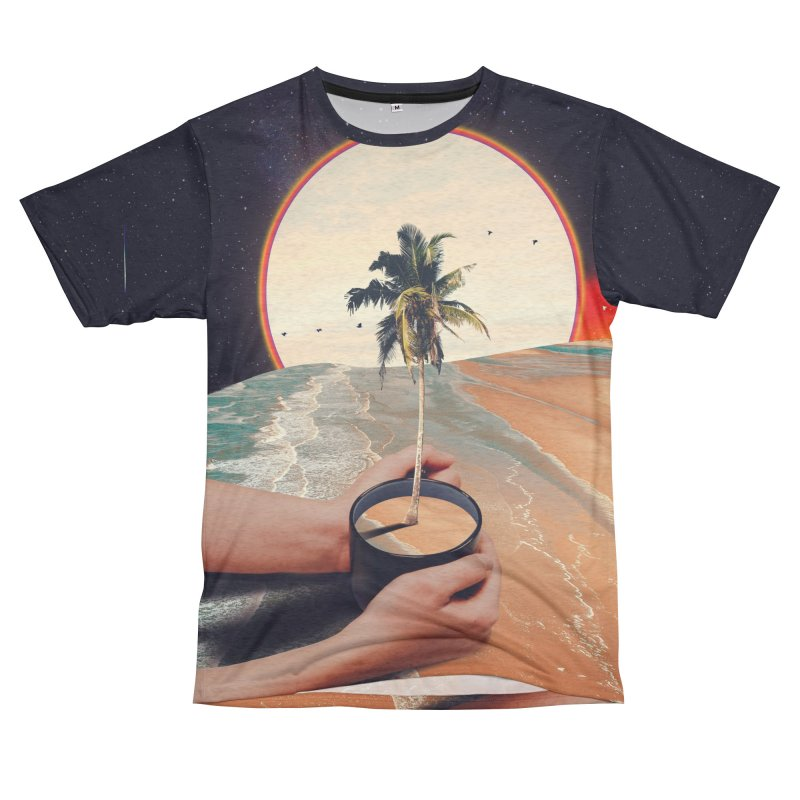 A Cup Of Sunshine Women's Unisex French Terry T-Shirt Cut & Sew by nicebleed